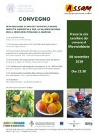 Introduzione di nuove tecniche a basso impatto ambientale per la valorizzazione della peschicoltura nelle Marche