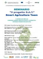 """Seminario Progetto """"Smart Agriculture Team (S.A.T.)"""