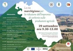 La via marchigiana per la riduzione dell'impronta di carbonio nelle produzioni agricole